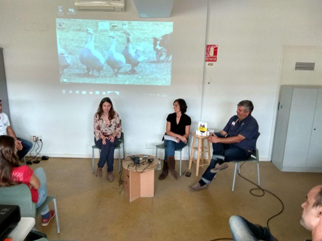 Presentación del libro - Aula ambiental Bosc Turull
